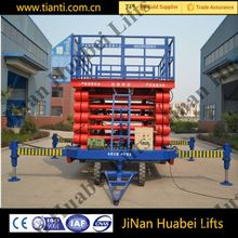 2016 CE 10 m hydraulic removable scissor lift platform for sale ISO 9001