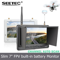 "7"" Ground Station High Definition drone Monitor with hdmi input connect FPV aerial camera FPV718"