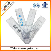 Plastic fold pain scale medical ruler