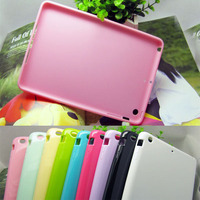Blank print TPU cover for ipad mini smart case 2014