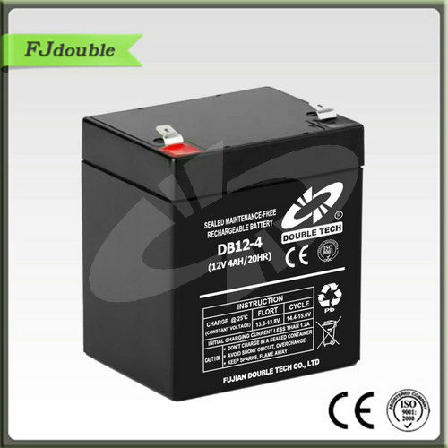 Double Tech 12V 4AH Battery And Charger