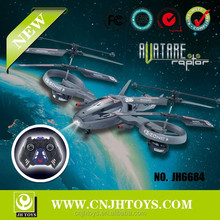JH6684 New Product 4CH RC Quadcopter With Light Avatar RC Helicopter For Sale