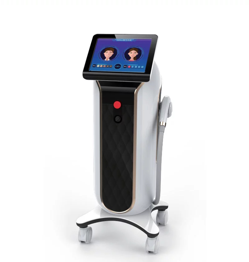 808nm diode 808 laser hair removal device painless permanent stack