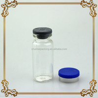10ml sterilized glass vials sealed with rubber stopper