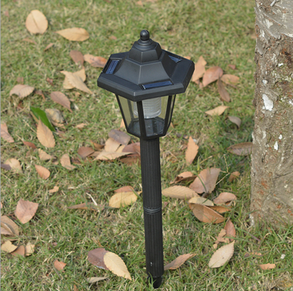 Plastic Outdoor Garden Path Solar Lights