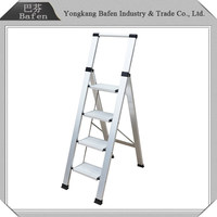 Trustworthy China supplier aluminum single side step ladder with tray