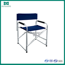 Tall foldable director chairs