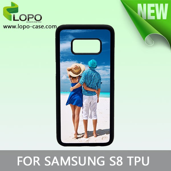 Factory Sale 2d Sublimation TPU Rubber Phone Case for Samsung S8