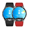 KW88 1.39'' HD Round Screen WiF GPS Navigation CNC Metal Body 3G Android Hand Watch Mobile Phone