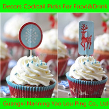 Hotsale Cupcake Flag Toothpicks For Party