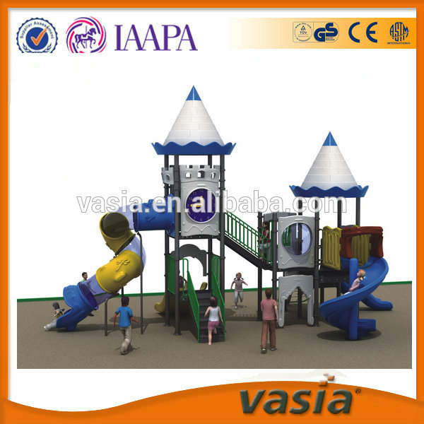 Used playground slide for sale, Kids outdoor playground equipment, outdoor play station