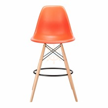 Hot selling modern PP material plastic bar dining chair