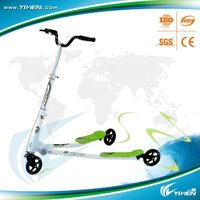 New trike push swing scooter,foldable kick scooter