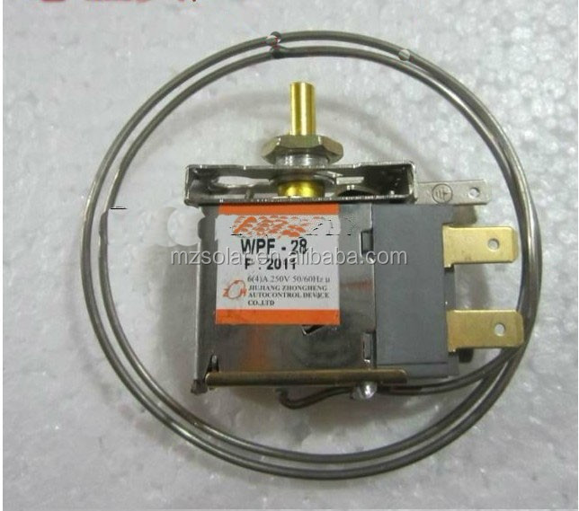 Bi-metal thermostat for 12 volt fridge refrigerator
