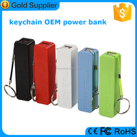 2016 New products mini portable perfume power bank 2600mah for iphone 6