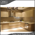 Foshan Narnia fashionable kitchen cabinets with kitchen island