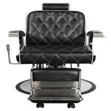 Professional portalle hair salon barber chair leather and steel for spare parts