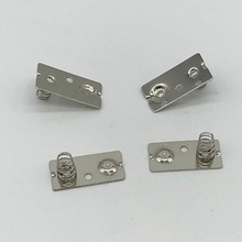 Custom Precision Small Stamping Nickle Plated Metal Aa Battery Terminals