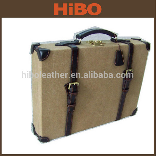Tourbon Full Leather Fishing Fly Reel Case