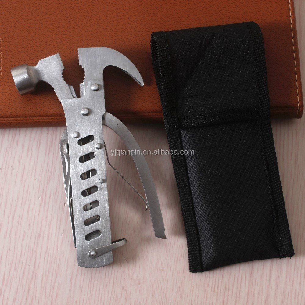 Custom Stainless Steel Mini Multifunction Claw Hammer