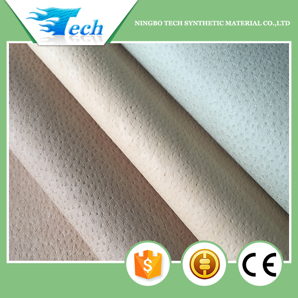 Reach Standard Euro pu shoe lining material latest shoes design(cuero sinteticos)