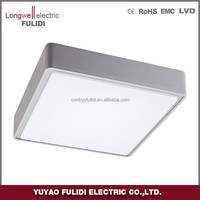 P3301 Square led ceiling light/ip65 bathroom surface mounted wall light/for indoor and outdoor use