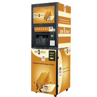 4 Flavors Vending Machines Coin Bill