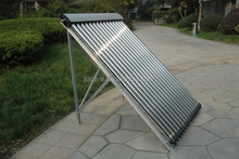 Heat pipe solar collector for swimming pool heating system