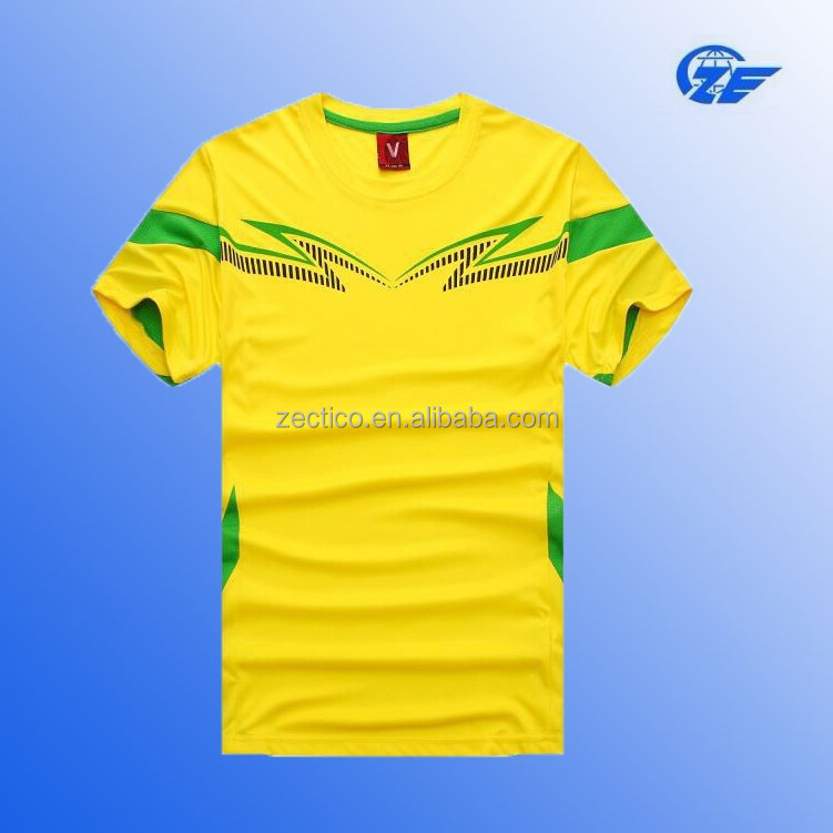 2014 popular men football sports wear sublimation printing soccer jersey