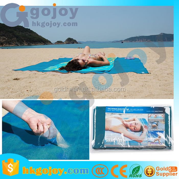 2017 wholesale straw bags camping mat sand free beach blanket/inflatable sleeping pad