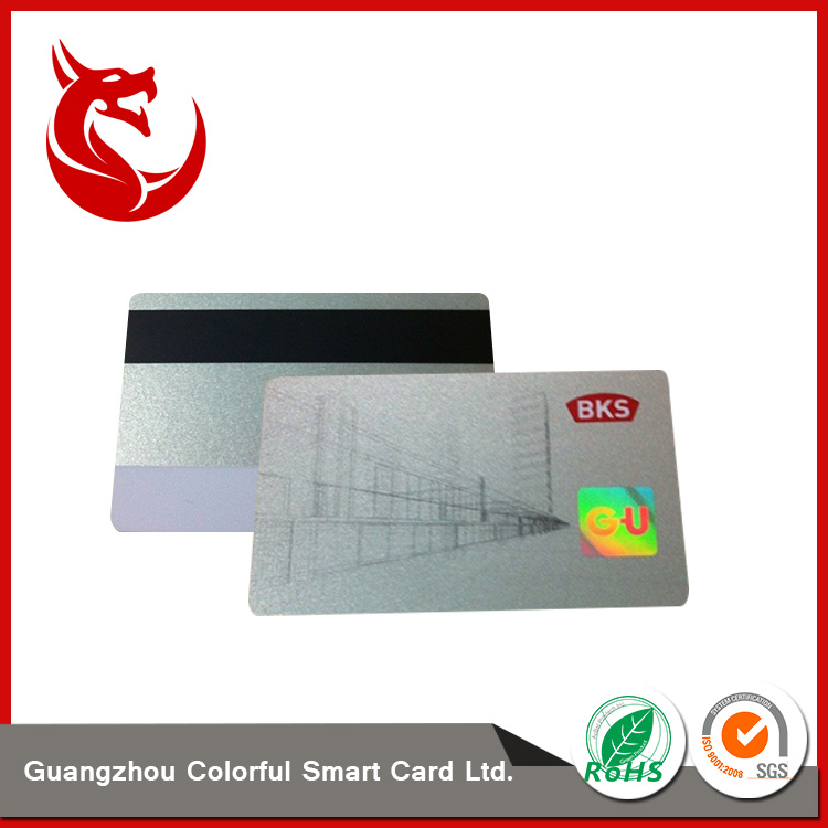 2017 new arrive customized hologram pvc card