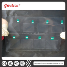 OEM die cutting transparent 200 micron Anti-Fingerprint Matte protective plastic film for mobile phone/ tablets/pc