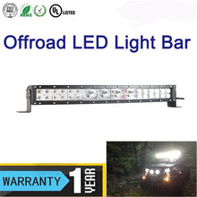 High quality 112w 20 inch single dual offroad led light bar