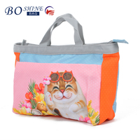 DONGGUAN BOSHINE Pretty Design 600D Nonwoven Bag Custom Made Foldable Tote Shopping Bag