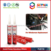 Polyurethane main raw material and windshield sealing usage polyurethane adhesive for car