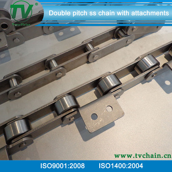 c2080 ss stainless steel conveyor roller chain