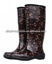 european style waterproof tall rain boot/shoe covers