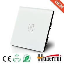 Tempered Glass Light control touch switch for light