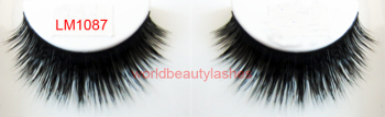 factory supply OEM Newest double layer mink fur strip eyelashes