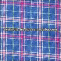 erode made woven latest design 100 cotton yarn dyed woven fabric