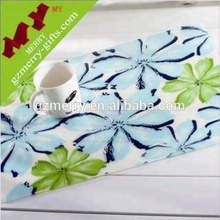 Guangzhou factory pvc place mat / custom table placemat / silicone placemat for kid