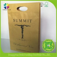 Customised Food Grade Recycled Brown Small Kraft Paper Bag