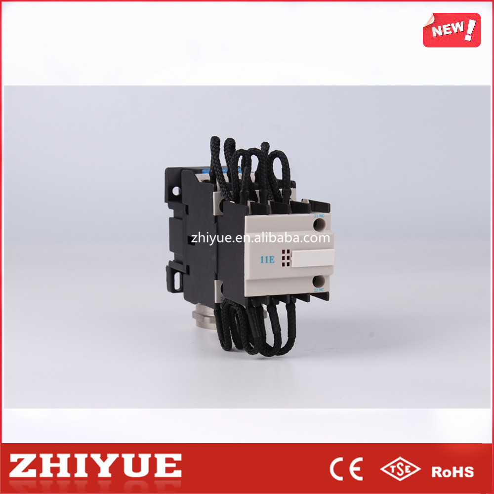 Series AC contactor for switching shunt capacitor CJ19