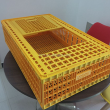Factory price plastic poultry transport cages for chicken