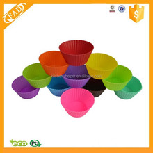 Amazon Supply High Quality Easily Use Baking Tools Silicone Muffin Cups