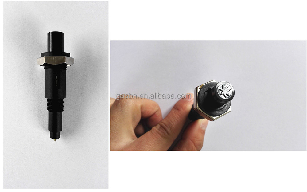 B4403-B spark logo push button piezo igniters