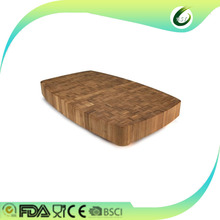 China products oak wooden bamboo chopping board end grain