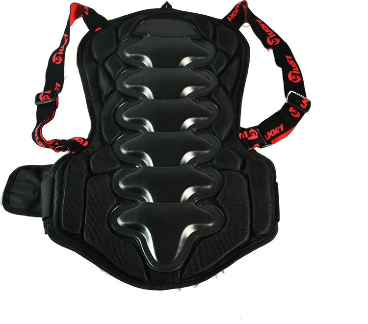 Good fit adjustable Back brace for jumpers