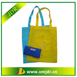 Wholesale Custom Polyester Shopping Bag foldable