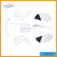 Hot Selling White CRF250 Dirt Bike Pocket Bike Plastics